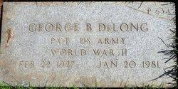 George B DeLong