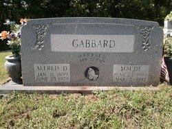 Alfred D Gabbard