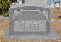 Hattie Eudora <I>Trammell</I> Clem