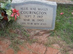 Allie May <I>Murphy</I> Courington