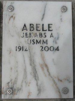Jekabs A Abele