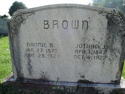 """Nancy """"Nannie"""" <I>Bobbitt</I> Brown"""