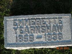 "Emerette Alma ""Em"" <I>Nichols</I> Yearnshaw"