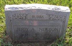 """Jerry A. """"Bubba"""" Newton"""