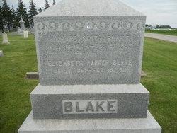 Elizabeth <I>Parker</I> Blake