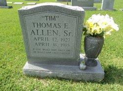 """Thomas E """"Tim"""" Allen, Sr"""