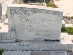 Rubye <I>Smith</I> Edenfield