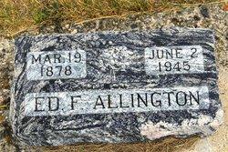 "Edward Franklin ""Ed"" Allington"