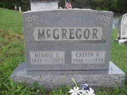 Minnie E <I>Walker</I> McGregor