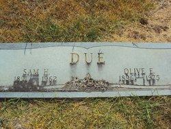 Olive Eunice <I>Massengill</I> Due