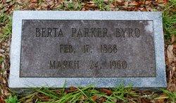 Berta <I>Parker</I> Byrd