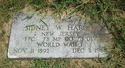 Sidney W Harvey