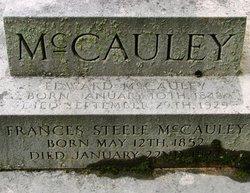 Frances <I>Steele</I> McCauley