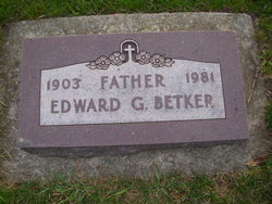 Edward G Betker