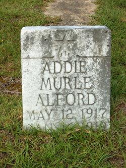 Addie Murle Alford
