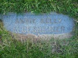 Annie <I>Kelly</I> Algesheimer