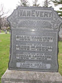 "Jennie Mabel ""Howell"" <I>Howell</I> Vanevery"