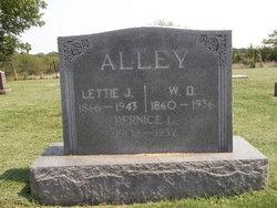 Lettie J. <I>Lowry</I> Alley