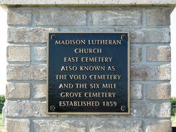 Madison Lutheran Church East Cemetery