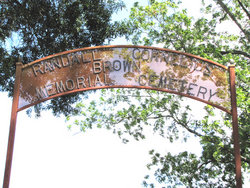 Randall Cornelius Brown Memorial Cemetery