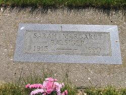Sarah Margaret <I>Allbee</I> Balsiger