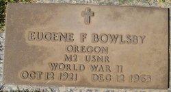 Eugene F. Bowlsby
