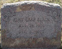 Ruby Estalee <I>Earp</I> Black