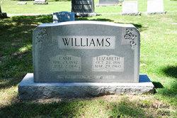 "Elizabeth Alexander ""Lizzie"" <I>Gallahan</I> Williams"