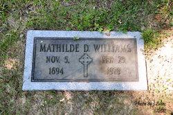 Mathilde D. Williams