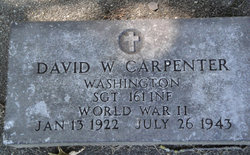 SGT David William Carpenter