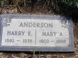 Harry Ephraim Anderson