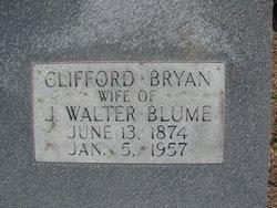Clifford <I>Bryan</I> Blume