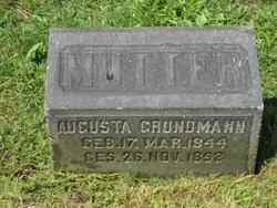 Augusta <I>Schmidt</I> Grundman