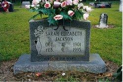 Sarah Elizabeth <I>Jackson</I> Ashmore