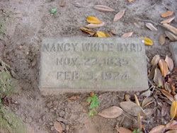 "Nancy Ogburn ""Nannie"" <I>White</I> Byrd"
