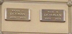 Max W Dorman