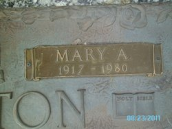 Mary Ann <I>Sturgeon</I> Caselton
