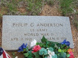 Philip G Anderson