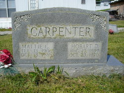 Mattie <I>Coffey</I> Carpenter