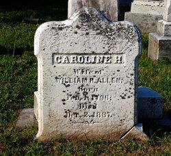 Caroline H Allen