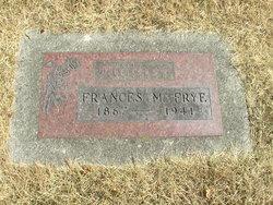 Frances May <I>Burns</I> Frye