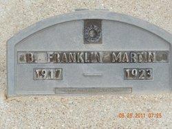 Benjamin Franklin Martin