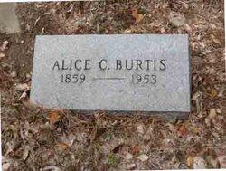 Alice Caroline <I>Finney</I> Burtis
