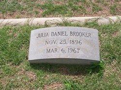 Julia Montague <I>Daniel</I> Brooker