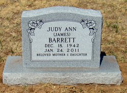Judy Ann <I>James</I> Barrett