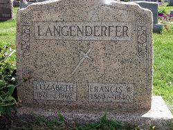 Elizabeth Almeda <I>Mayer</I> Langenderfer
