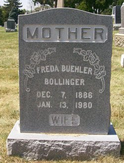 Freda <I>Buehler</I> Bollinger