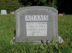 Bertha <I>Soule</I> Adams