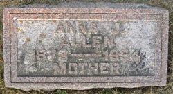 Anna Jane Allen