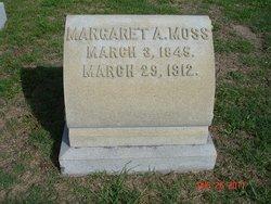 Margaret Ann <I>Holman</I> Moss